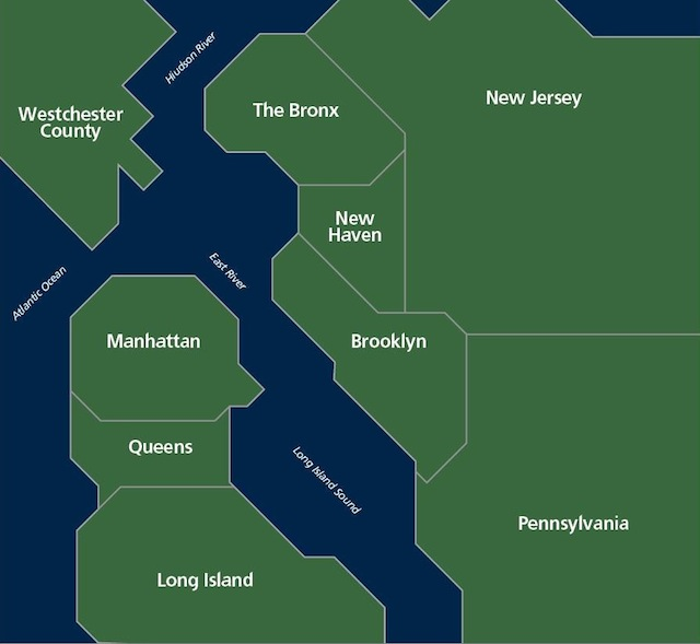 How New Yorkers See the San Francisco