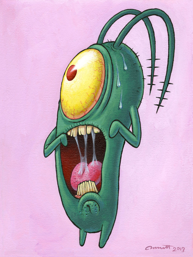 Plankton Scream by Peter Bennett
