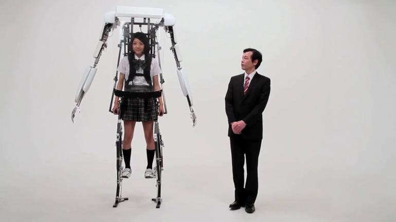 Demonstration of the Powered Jacket MK3 Electromechanical Exoskeleton