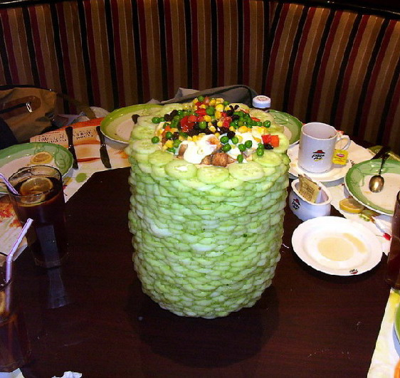 Salad Tower