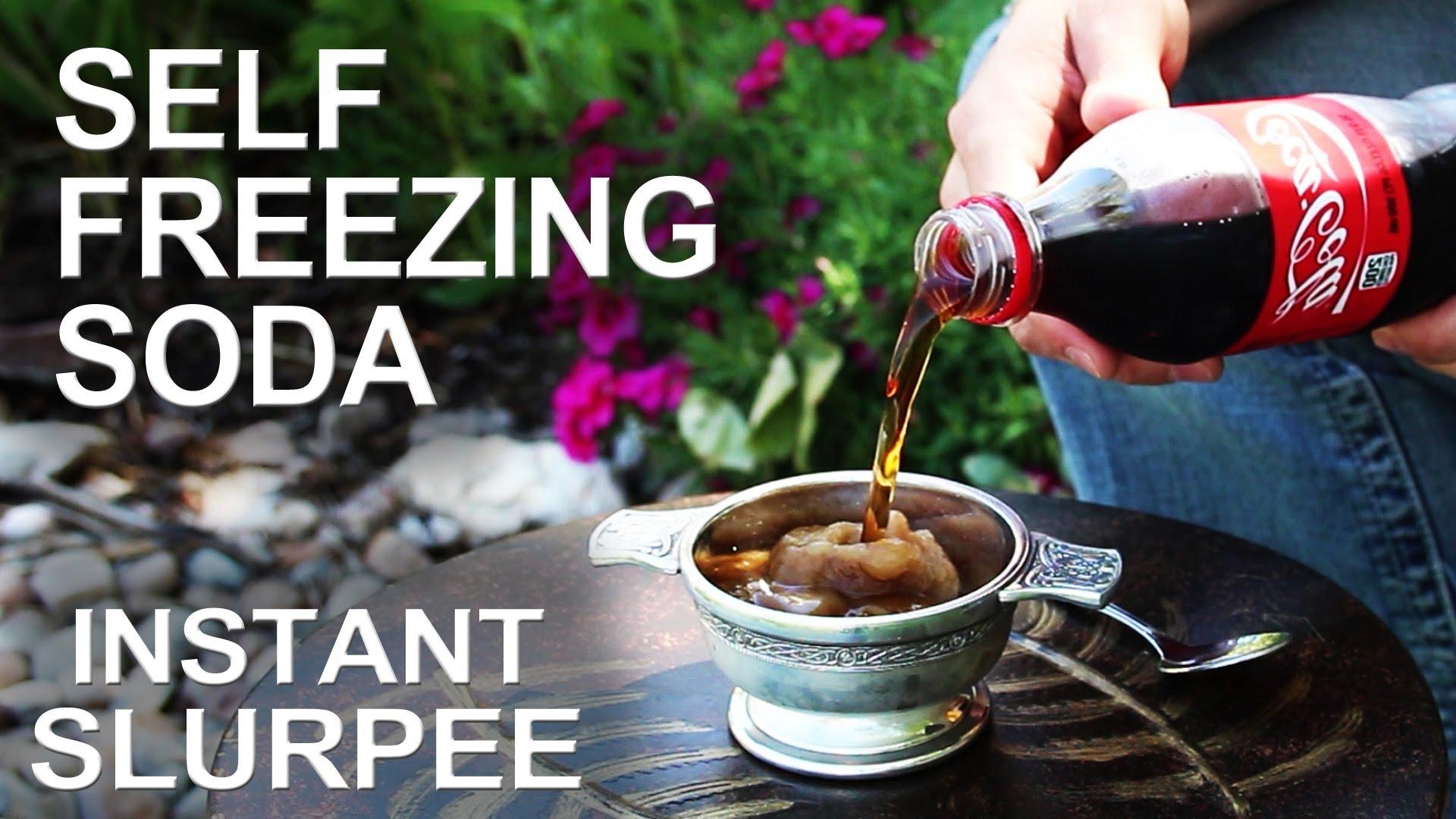 The Self-Freezing Soda Pop Trick
