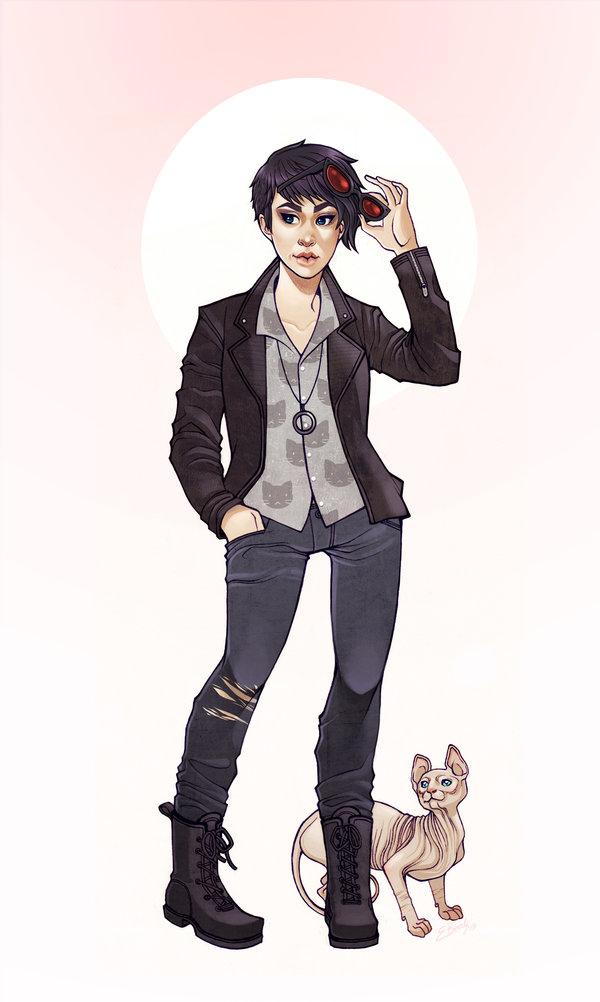 Catwoman by Elizabeth Beals