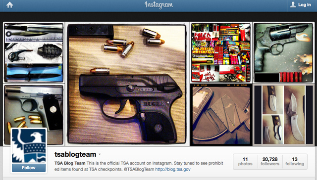 TSA Launches Instagram Account Featuring Photos of Seized Items
