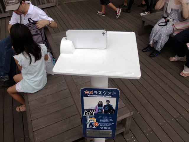 Public camera stand