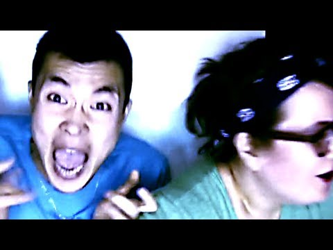 Unsuspecting People Scared in Photo Booth Prank