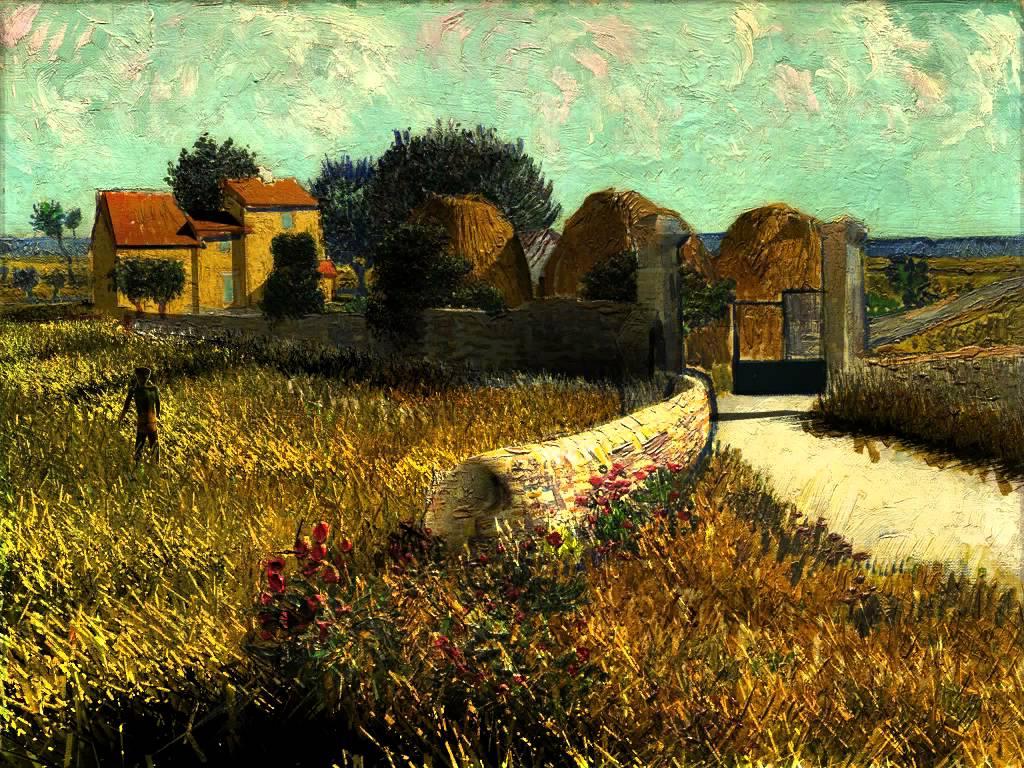 Van Gogh Shadow, Light and Movement Digitally Added to Van Gogh Paintings