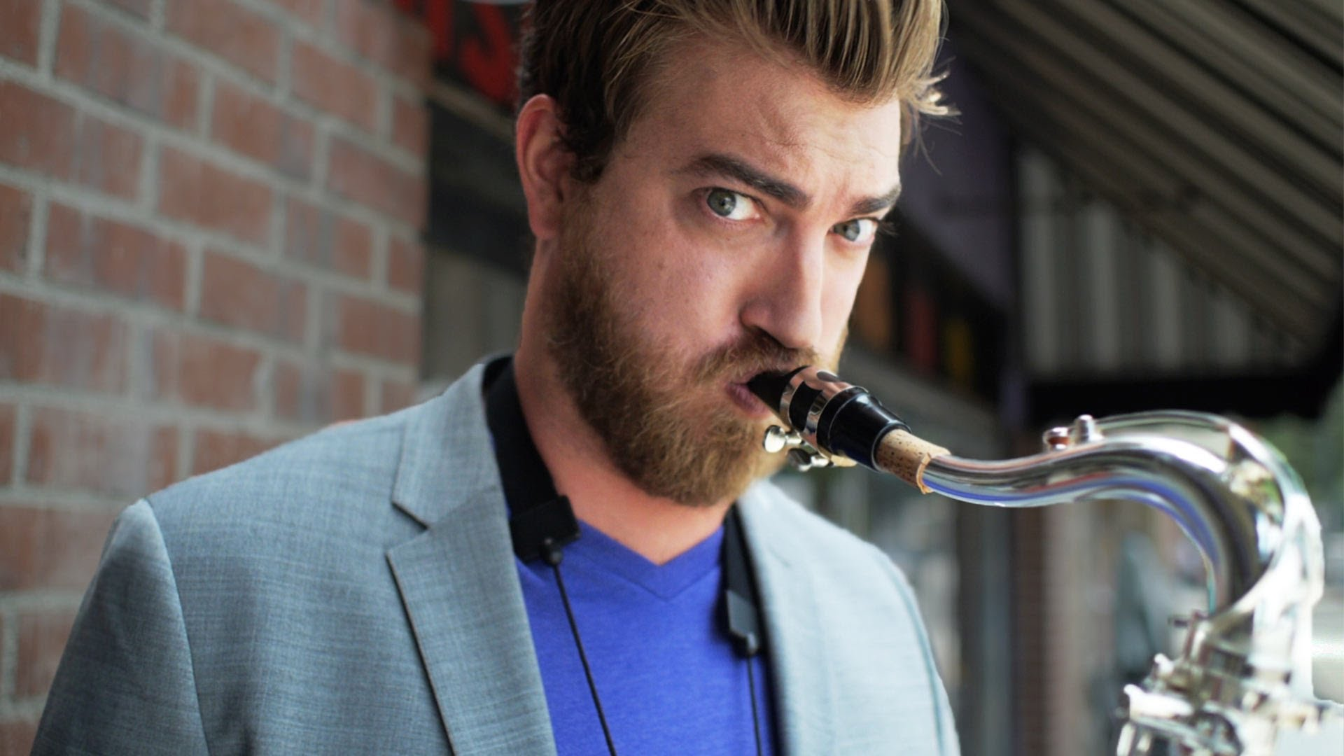 Rhett wished everyone a great day: