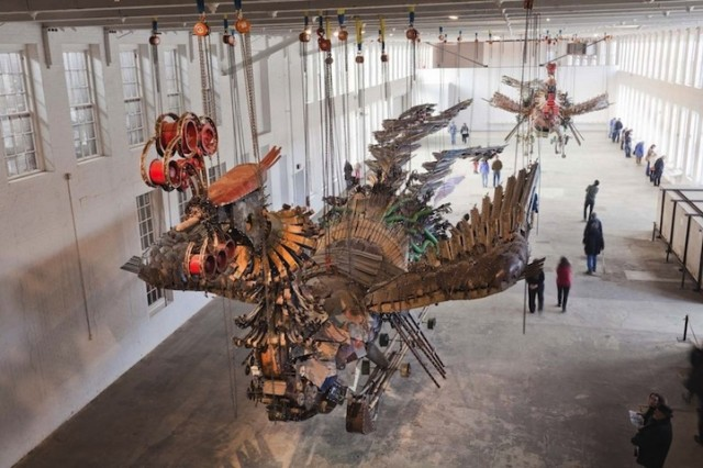Phoenix by Xu Bing