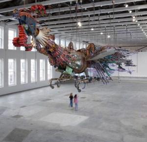 Phoenix by Xu Bing