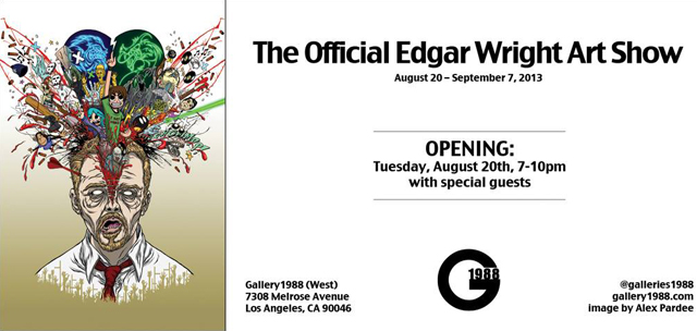 Edgar Wright Art Show