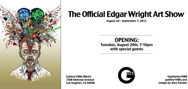 Edgar Wright Art Show