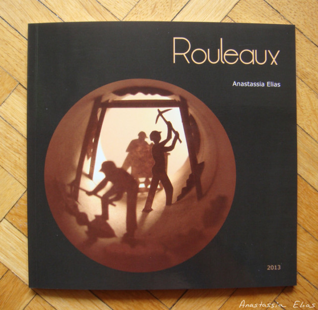 Rouleaux toilet paper roll art by Anastassia Elias