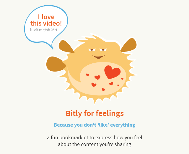 Bitly For Feelings