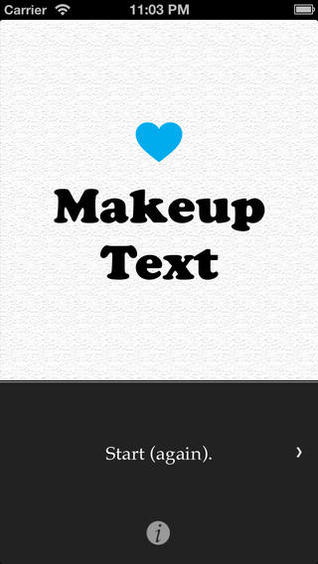 MakeupText