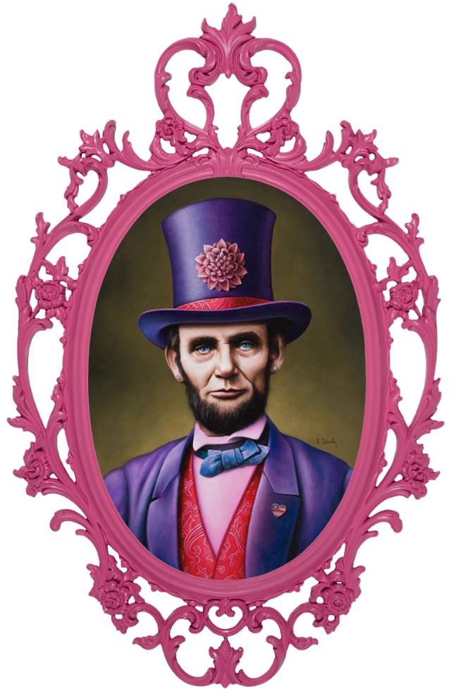 Abe Lincoln, American Bad Ass by Scott Scheidly