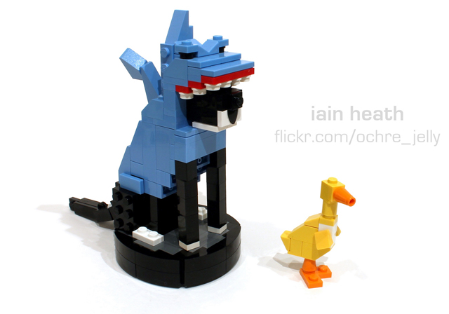 LEGO Roomba Cat