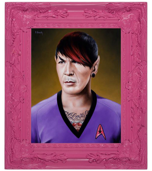 Emo Spock by Scott Scheidly