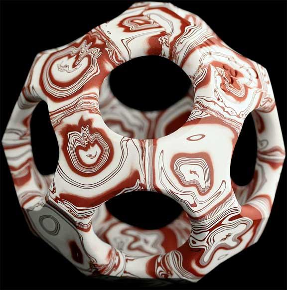 Porcelain art by Bobby Jaber