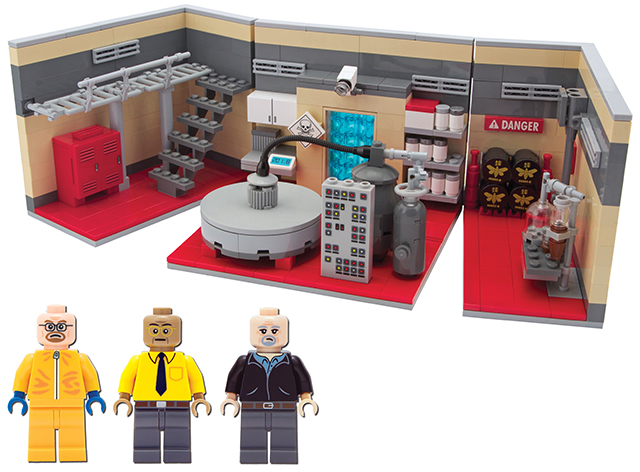 LEGO 'Breaking Bad' Superlab Playset