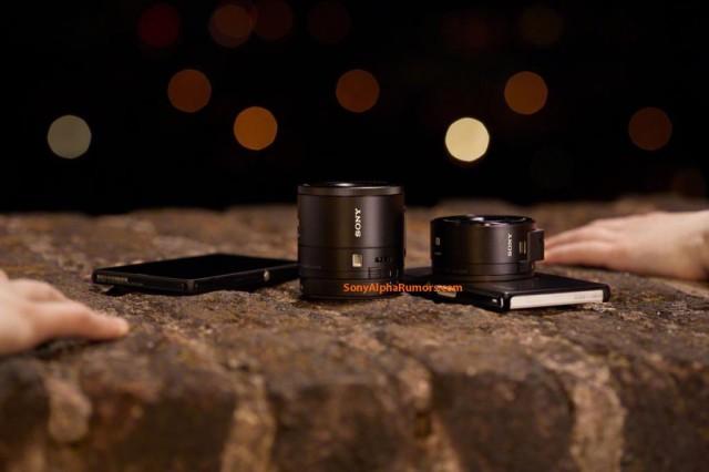 Sony lens-cameras