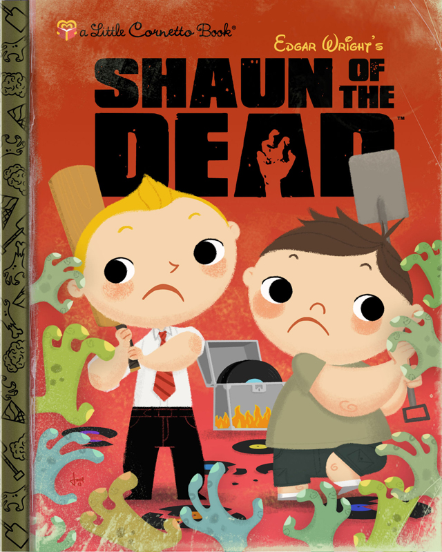 Shaun of the Dead by Joey Spiotto