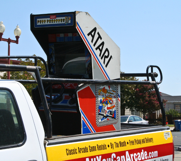 All You Can Arcade, A Vintage Arcade Machine Rental Service