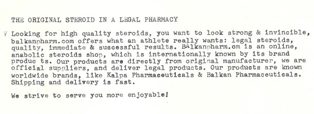 Power Pharmacist Letter