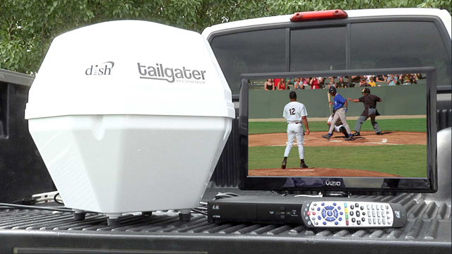Tailgater Portable Satellite Antenna