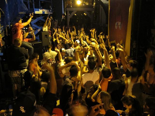 Xandernation Manhattan Bridge Dance Party
