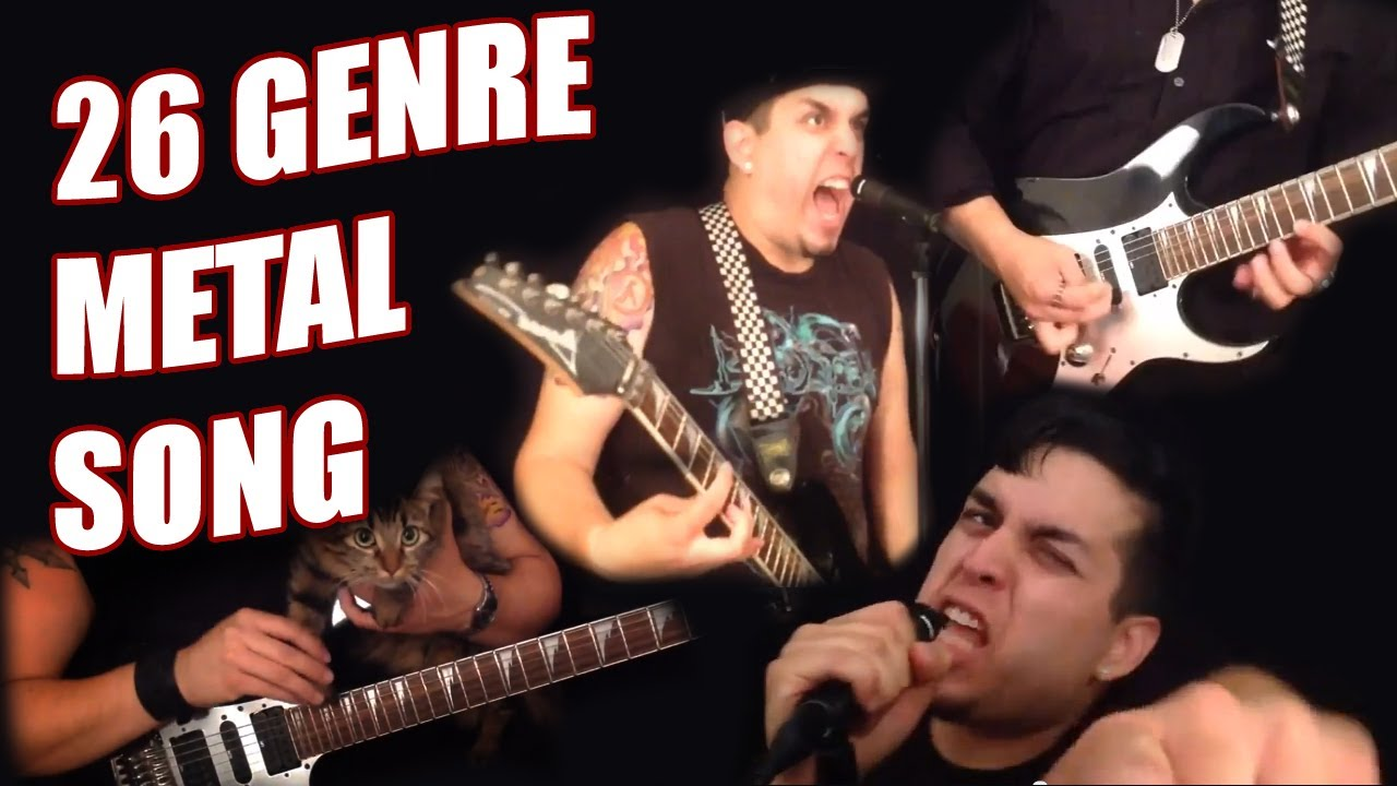 A Song Transitioning Through 26 Genres of Heavy Metal Alphabetically