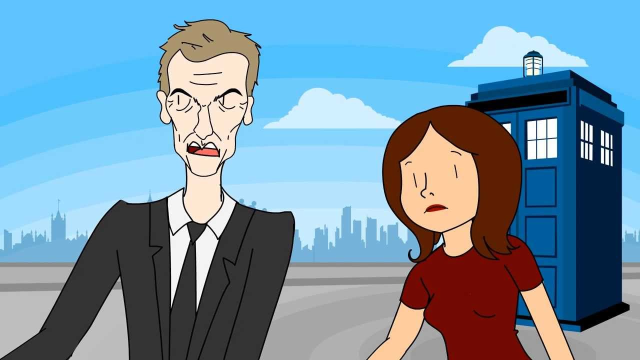 Animation Imagines Peter Capaldi's Future Foul-Mouthed Performance in 'Doctor Who'