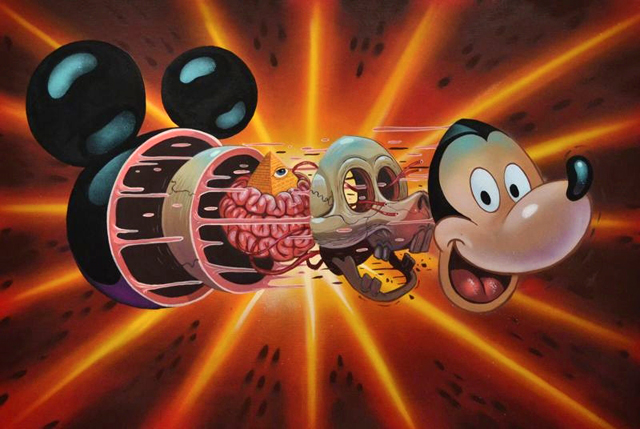 Dissection of Mickey's Head