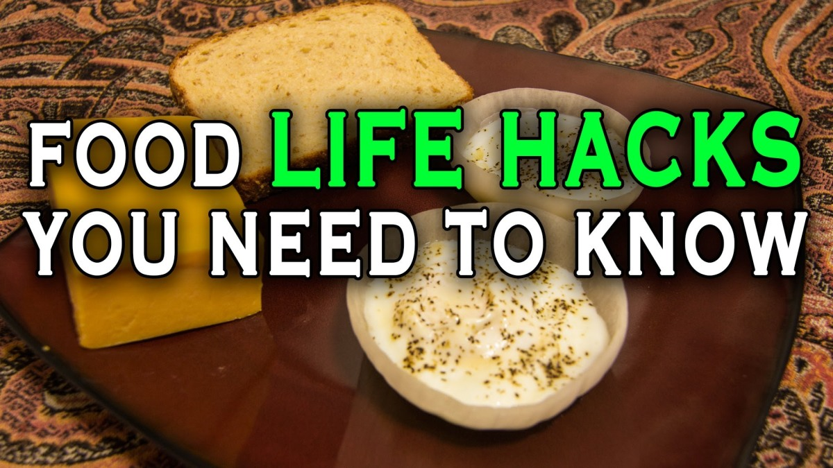 Food life hacks that will help out in the kitchen for 9 kitchen life hacks