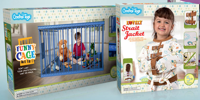Control Toys, A Line of Educative Toys For Badly Behaved Children