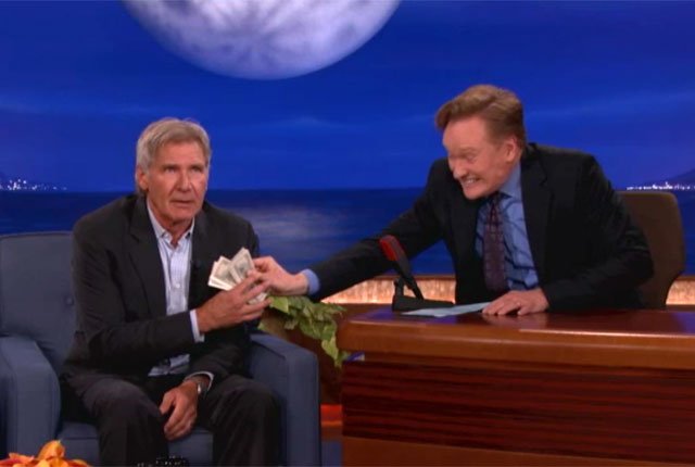 "Harrison Ford Spills ""Star Wars"" Spoilers For $1,000"