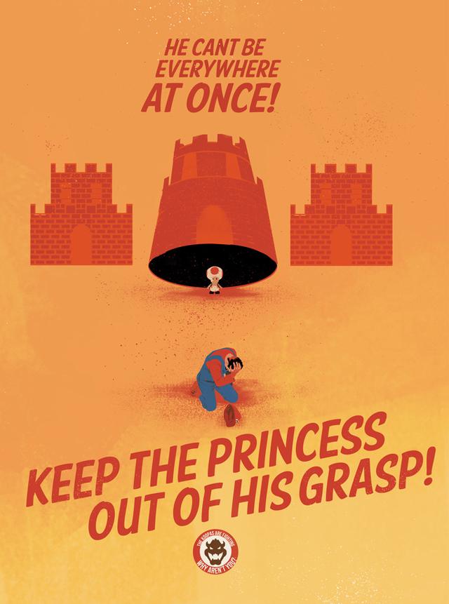 Keep The Princess Moving