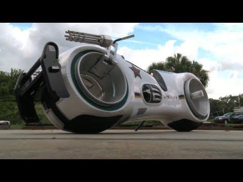 Neutron Bike A Futuristic Motorcycle Based On The Tron