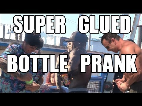 Pranksters Super Glue Cap Onto a Bottle and Ask Strangers to Open It