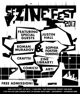 San Francisco Zine Fest 2013