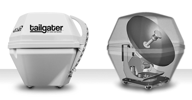Tailgater Portable Satellite Antenna