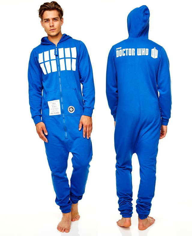 Adult Hooded Onesies Based on Pop Culture TV Shows and Films