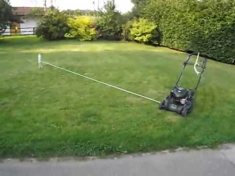 Tethered Lawn Mower Hack