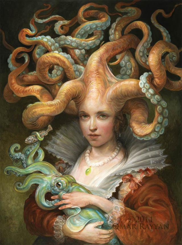 Contessa with Squid