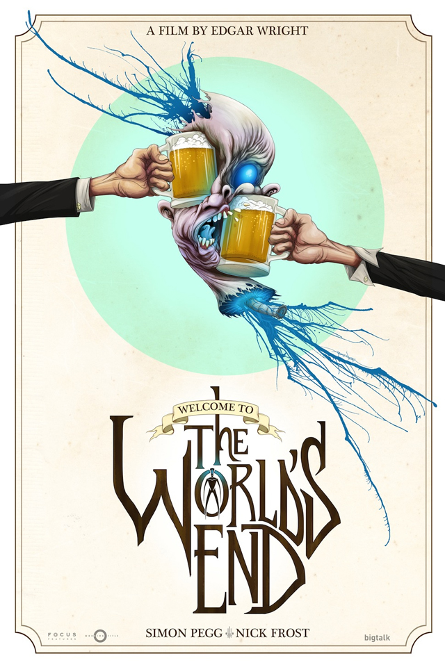 The World's End by Alex Pardee
