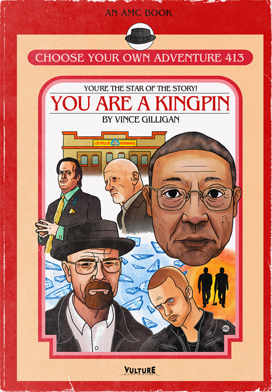 Choose Your Own Adventure Books Based on 'Breaking Bad'