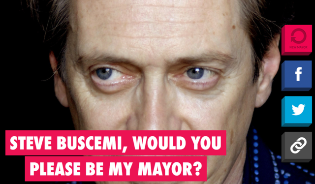 Will You Please Be My Mayor
