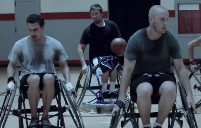 Friends Play Wheelchair Basketball to Show Their Love in Heartwarming Commercial