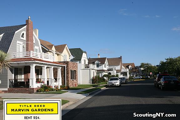 Photos of actual Monopoly properties