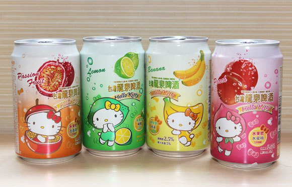 Hello Kitty Beers