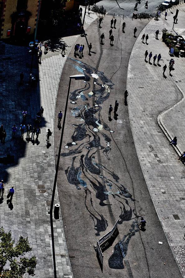 Shadow art by Herbert Baglione